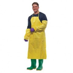 Thermsafe Chemical Resistant Protective Apron with Ties
