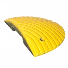 Traffic Speed Ramps Bump 50mm or 75mm high- Recycled PVC Segments