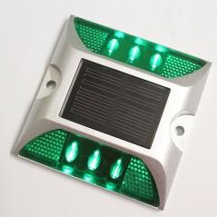 Aluminum Cat Eyes IP68 Reflective Waterproof LED Solar Powered Road Stud Light Ground Light