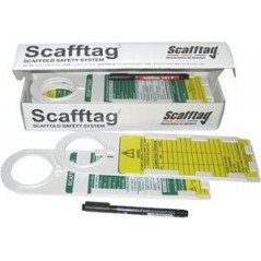 Scafftag Multitag Holder, Insertion and Pen