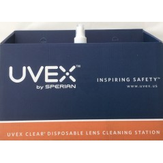Uvex 763- S467 Disposable Lens Cleaning Station