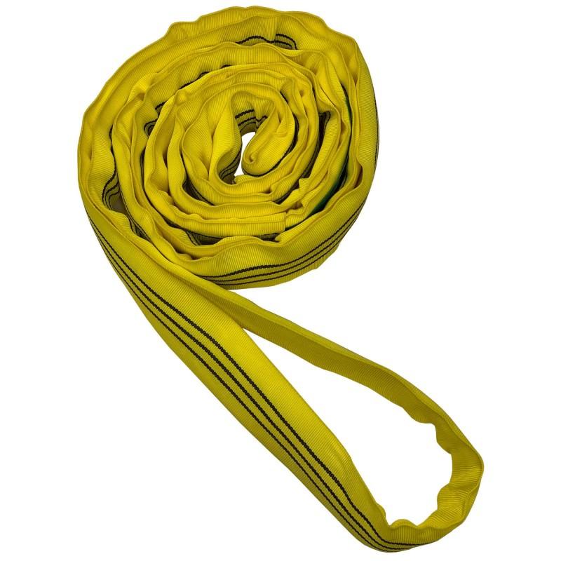 3 Ton Round Polyester Endless Tubular Webbing Sling 'Single Sleeve'