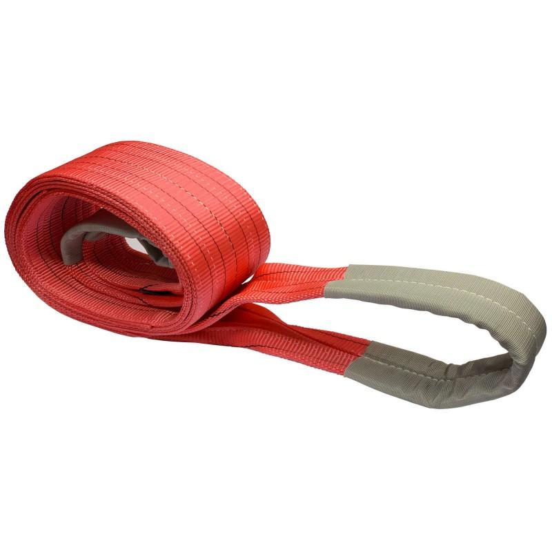5 Ton Flat Polyester Woven Webbing Lifting Sling Belt