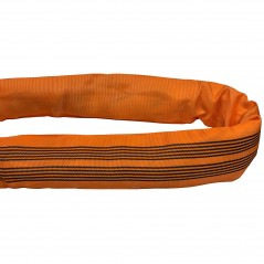 10 Ton Round Polyester Endless Tubular Webbing Sling 'Single Sleeve'