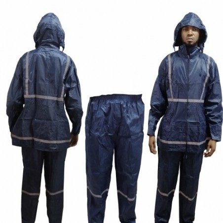 Beta Safety Polyester Reflective Raincoat With Trouser