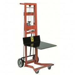 Wesco 260020 750 lb. 4 Wheel Steel Winch Pedalift