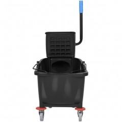 36L Industrial Mop Bucket black