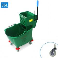 36L Industrial Mop Bucket green