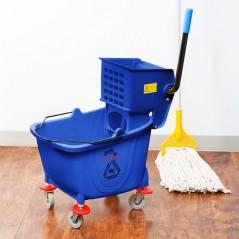 36L Industrial Mop Bucket blue
