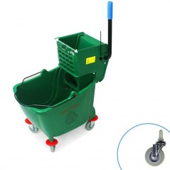 20L Industrial Mop Bucket green
