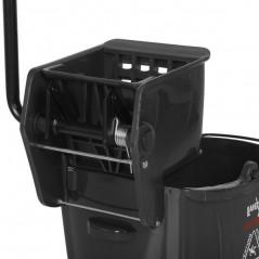 20L Industrial Mop Bucket black