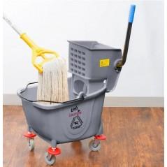20L Industrial Mop Bucket Gray