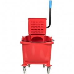 20L Industrial Mop Bucket red