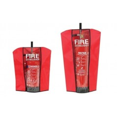 Fire Extinguisher Cover red