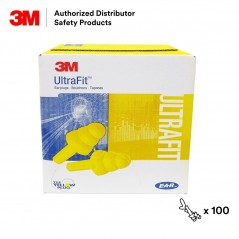 3M E-A-R UltraFit Corded Earplugs