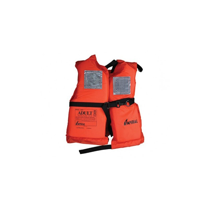 Imperial 198RT Basic Offshore PFD Life Jacket, Adult Size, USCG Approved - Type 1