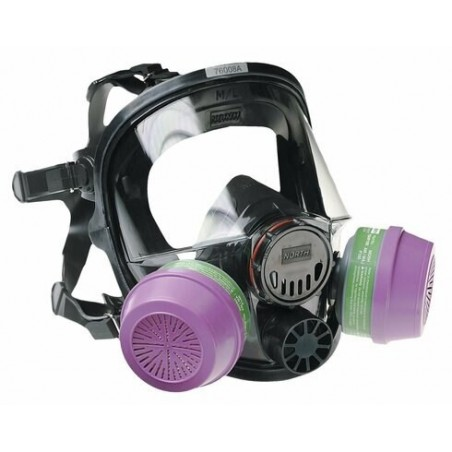 North Safety Honeywell 7600 Series Silicone Full Facepiece Respirator