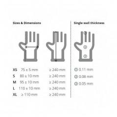 Unigloves Kooltouch Premium Disposable Nitrile Hand Glove