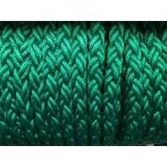 8 Strand Braided Polypropylene Mooring Rope green