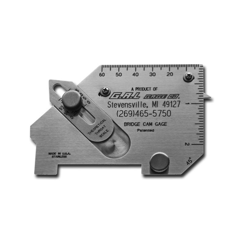 Techweld Welding Gauge - Bridge Cam Gauge WG-4