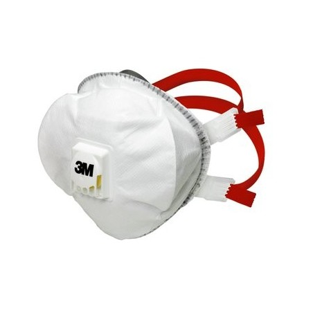 3M 8835+ Particulate N95 Disposable FFP3, Valved Respirator Nose Mask