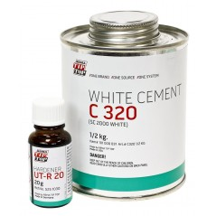 REMA Tip Top C 320 / SC 2000 White Cement - Food Grade Cold Vulcanizing Adhesive