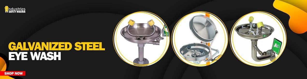 Buy Galvanized Steel Eyewash Station Online - Eyewash Suppliers Store