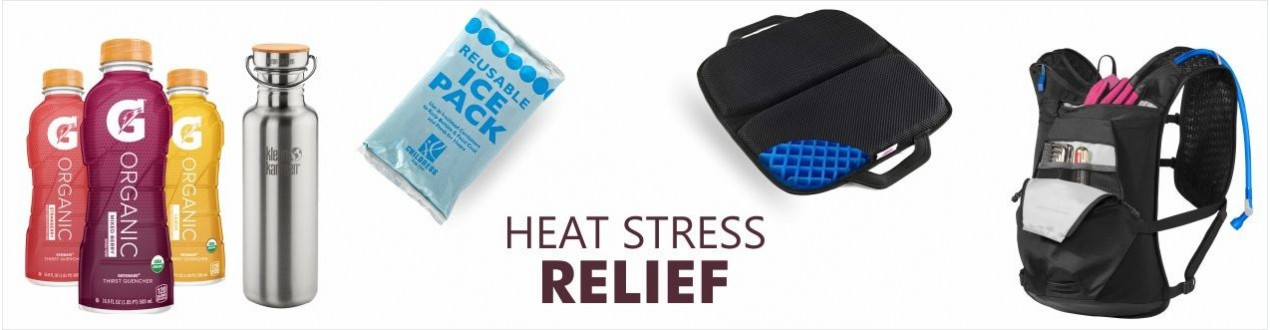 Heat Stress Relief | First Aid - Buy Online - Supplier - Hydration Packs