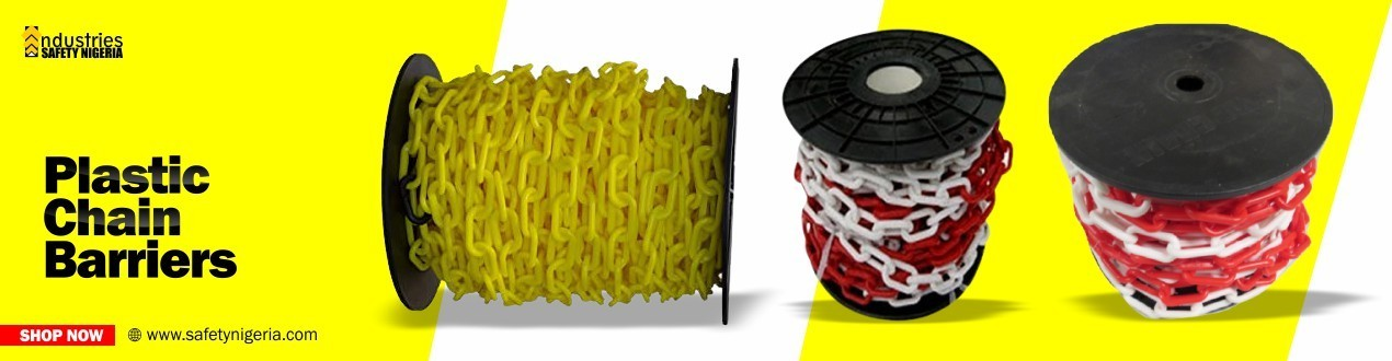 Buy Security  Plastic Chain Barriers Online   Safety Shop   Suppliers