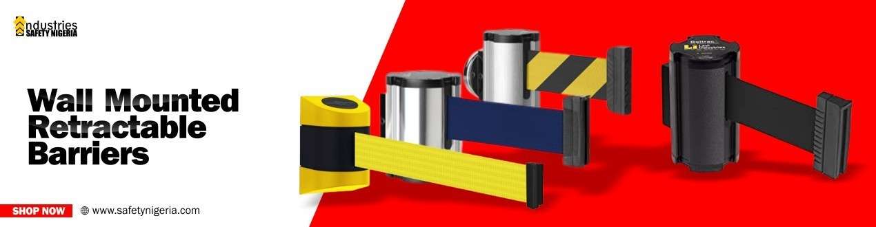 Buy Wall Mounted Retractable Barriers | Safety Shop | Suppliers