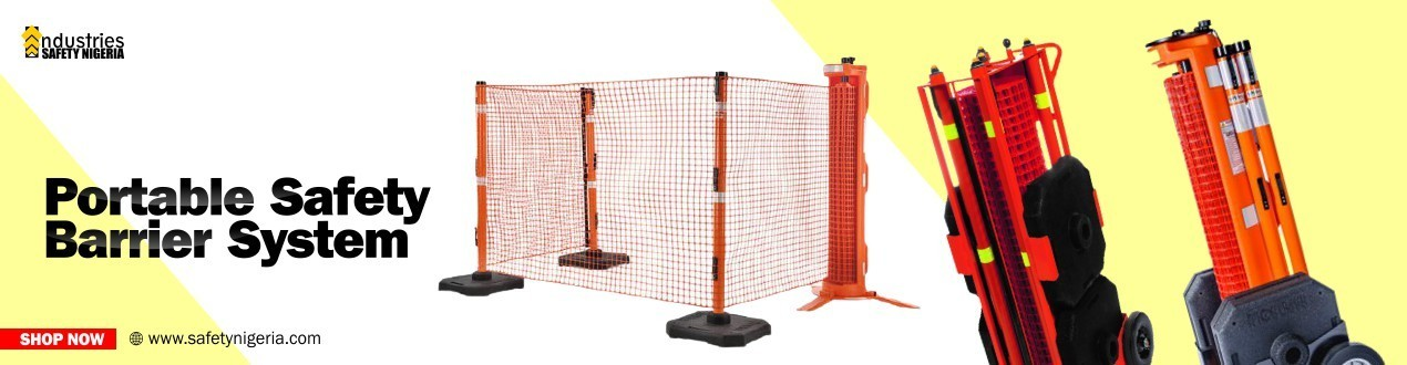Buy Portable Safety Barrier System | Security Shop | Suppliers Price