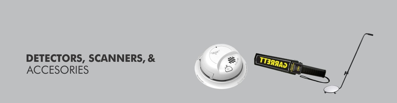 Security Detectors, Scanners and Accessories - Buy Online - Supplier