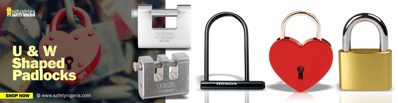 Buy Security U & W Shaped Padlocks Online – Security Shop - Suppliers