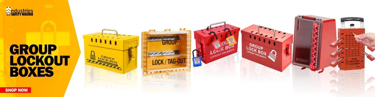Buy Group Lockout Tagout Box Online | Loto Kits | Suppliers Shop Price
