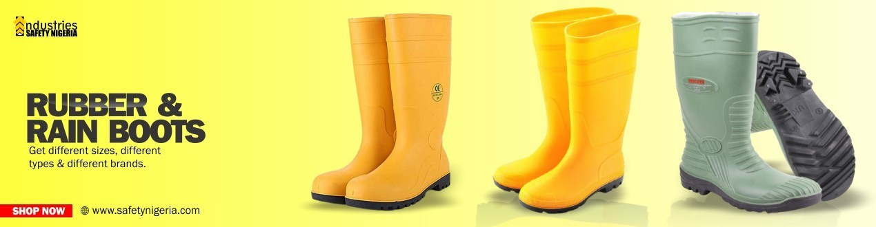 Buy Rubber & Rain Boots Foot Protection Online | Suppliers Shop Price