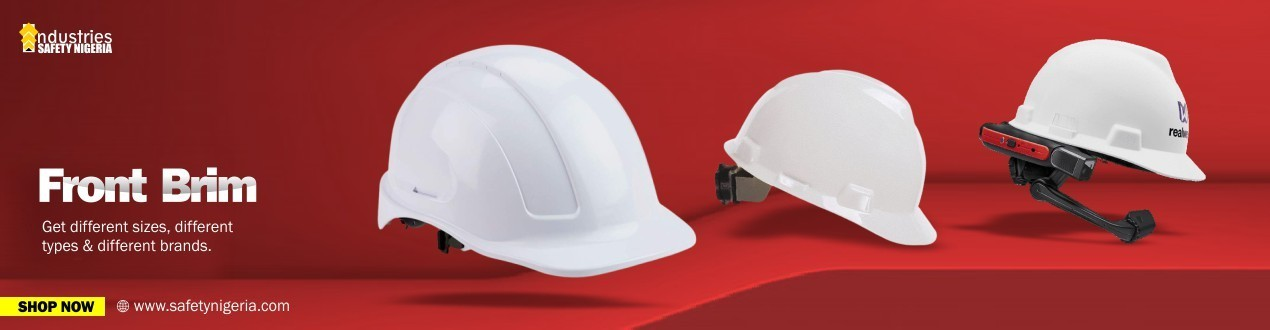 Front Brim Safety Helmet | Head Protection | Buy Online | Suppliers