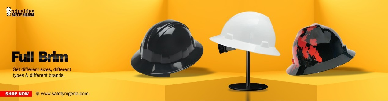 Buy Full Brim Safety Helmet Online | Head Protection Suppliers Shop