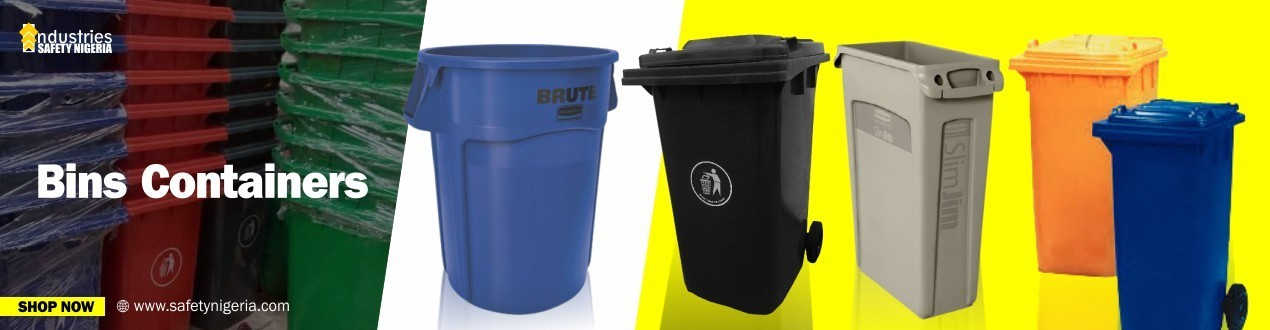 Buy Bins Containers in Nigeria | Bin suppliers | Cheapest Price | Order