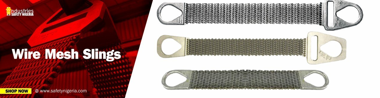Buy Wire Mesh Lifting Slings – Material handling Equipment   Suppliers