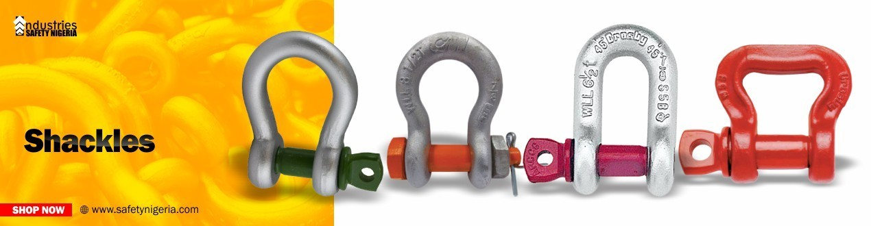 Buy Shackles Online   Shackle Suppliers in Nigeria   Lifting Shackle shop