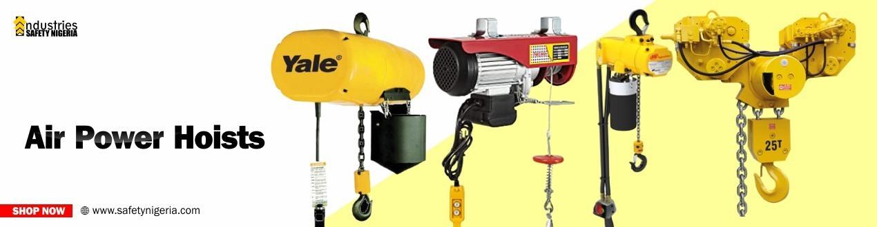 Buy Air Power Hoist Equipment | Nigeria Suppliers | Air Power Hoist Shop