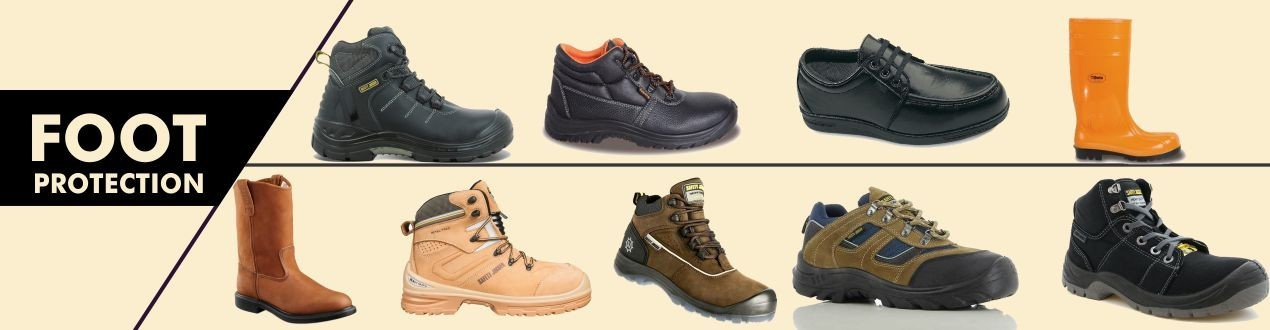 Foot Protection - PPE | Shop Footwear online | Supplier - Price