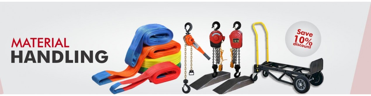 Material Handling Lifting Equipment - Supplier - Buy Online - Price