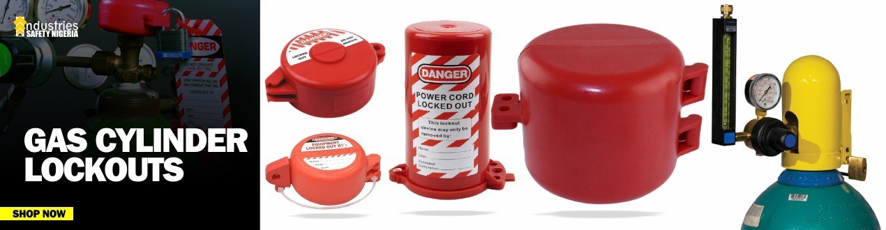 Buy Gas Cylinder Lockouts Tagout Online - Nigeria Suppliers Store Price