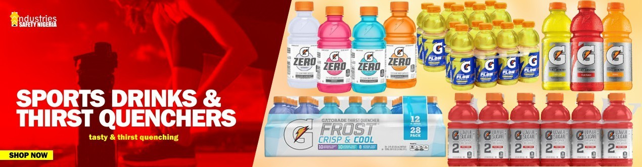Sports Drinks and Thirst Quenchers - Heat Stress Relief - Supplier Price