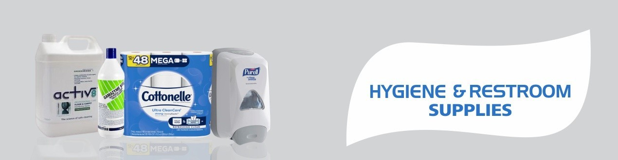 Buy Hygiene and Restroom Supplies – Cleaning Products online | Supplier