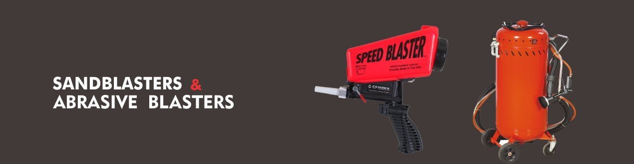 Sandblasters and Portable Abrasive Blasters - Suppliers - Buy Online