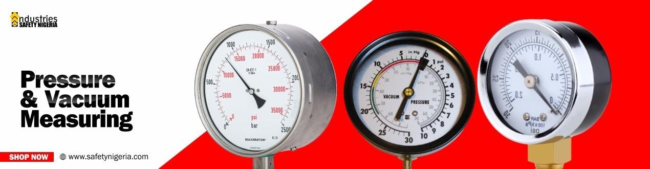 Buy Pressure and Vacuum Measuring Online - Suppliers Store Price