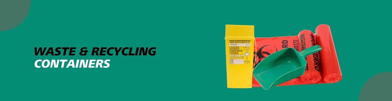 Waste and Recycling Containers – Janitorial | Buy Online | Supplier Price