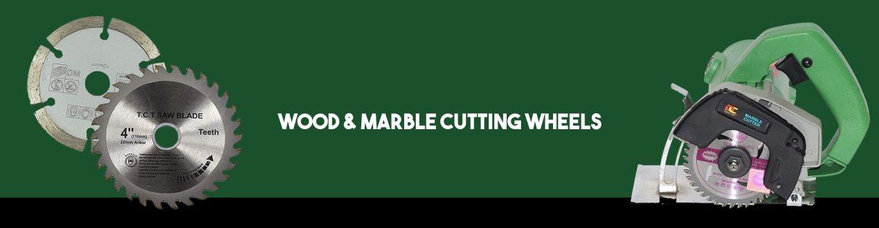 Wood & Marble Cutting Wheels